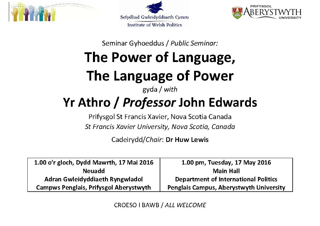 The Power of Language, The Language of Power